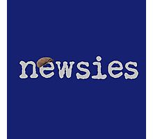 Newsies w/ Cap Photographic Print