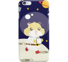 Hamster in the space iPhone Case/Skin