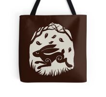 Leaping Hare in Autumn Tote Bag