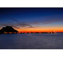 Castle Sunrise Photographic Print