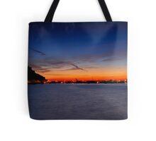 Castle Sunrise Tote Bag