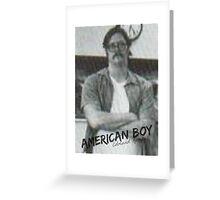 Edmund Kemper - American Boy Greeting Card