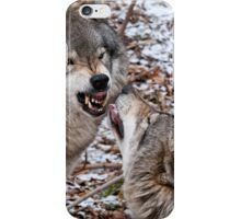 My, What Big Teeth You Have iPhone Case/Skin