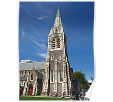 Christchurch Cathedral New Zealand Poster