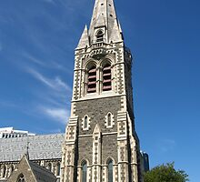 Christchurch Cathedral New Zealand by Rob Price