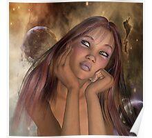 Moonbeams and Daydreams Poster