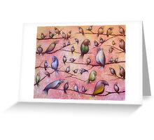 Bird Song Greeting Card