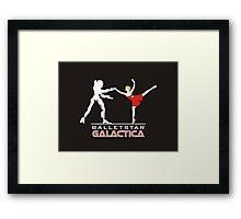 Balletstar Galactica Framed Print