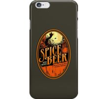 Spice Beer Label iPhone Case/Skin