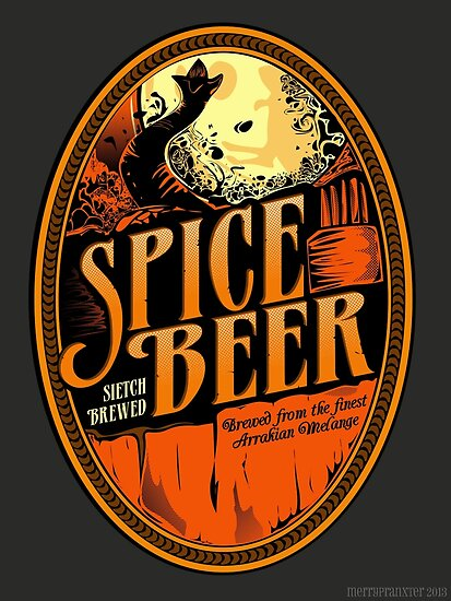 Spice Beer Label by merrypranxter