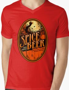 Spice Beer Label Mens V-Neck T-Shirt