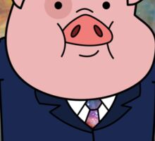 """Smart"" Waddles Sticker"