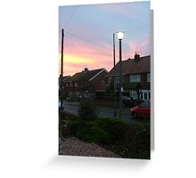Peaceful Front Garden  Greeting Card