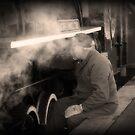 The Steam Train Fireman by Peter Redmond