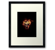 The Punisher - Fury Framed Print
