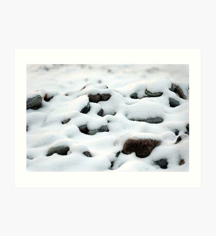 Rocky Winter Art Print