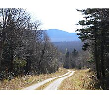 Trail To Nowhere Photographic Print