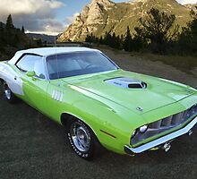 1971 Plymouth Cuda Hemi Convertible by 454autoart