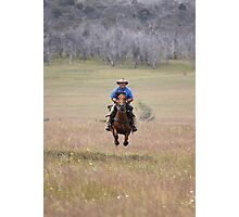 Full gallop Photographic Print