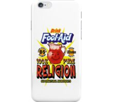 Fool-Aid: 100% Pure Religion (Light background) iPhone Case/Skin