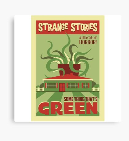 Some Thing That's Green Canvas Print
