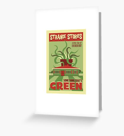 Some Thing That's Green Greeting Card
