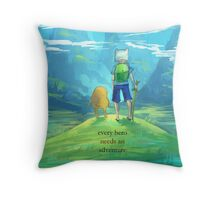 Adventure Time Finn and Jake Throw Pillow
