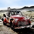 old red tow truck, route 66, cool springs, arizona by brian gregory