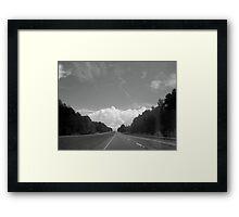 Tsunami Framed Print