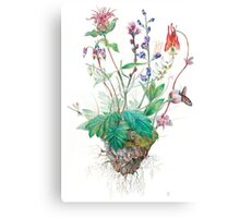Wildlfowers Canvas Print