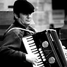Old Accordionist by Karl187