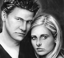 buffy and angel by dollface87