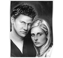 buffy and angel Poster