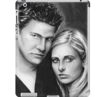 buffy and angel iPad Case/Skin