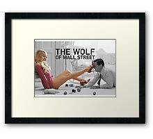 The wolf of wall street - short skirts 4 Framed Print