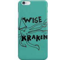 Wise Kraken iPhone Case/Skin