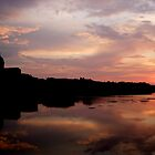 Sunset on the Arno (Number 2) by tomheys