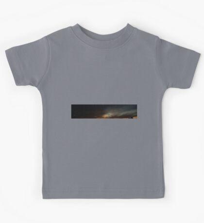 0984 - HDR Panorama - Sunset Kids Tee
