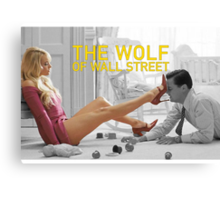 The wolf of wall street - short skirts 5 Canvas Print