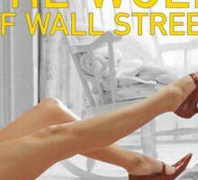 The wolf of wall street - short skirts 5 Sticker