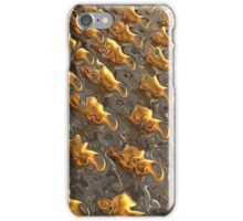 Abstract Melting Metal  iPhone Case/Skin