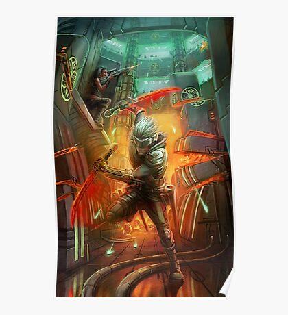 futuristic slasher Poster