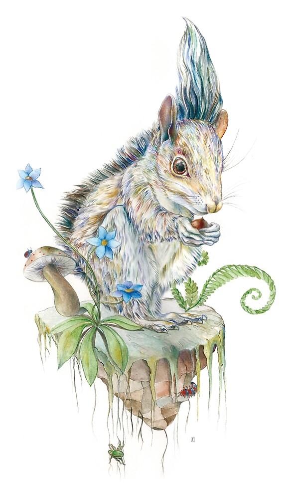 Squirrel by Brandon Keehner