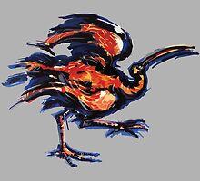Depeche Mode : It's Called a Heart - Bird - Color by Luc Lambert