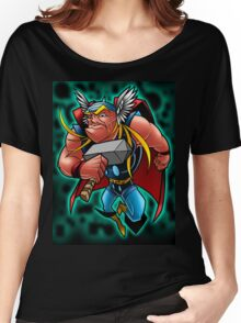 The God of Thunduh Women's Relaxed Fit T-Shirt