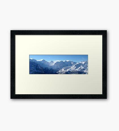Swiss Alps (Number 1) Framed Print