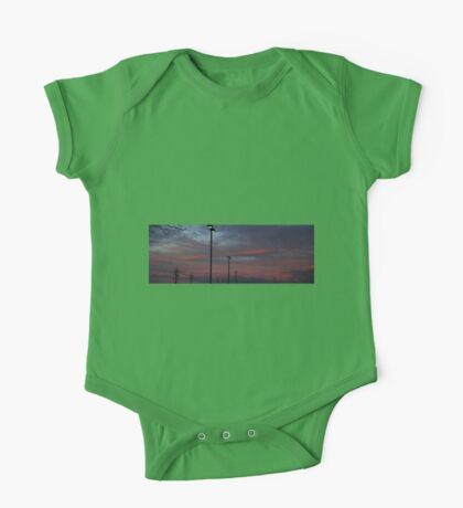 0987 - HDR Panorama - Sunset One Piece - Short Sleeve