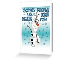 Olaf - Frozen Greeting Card
