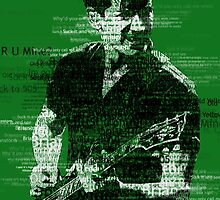 Alex Turner Typography (Green) by samturner