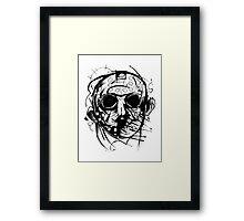 Jason Doodle Framed Print
